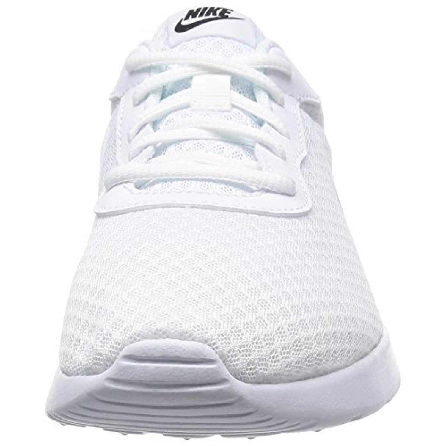 Nike Mens Tanjun Athletic Sneaker White/White-Black 812654-110 13 - white  white black - Free Shipping Today - Overstock.com - 24409799