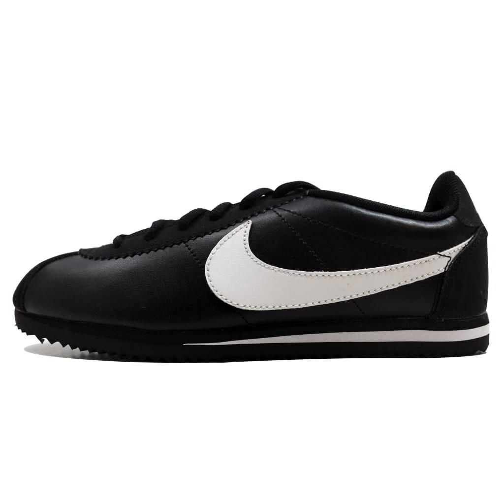 ad951209647795 Shop Nike Grade-School Cortez Black White 749482-001 - Ships To Canada -  Overstock.ca - 19507765