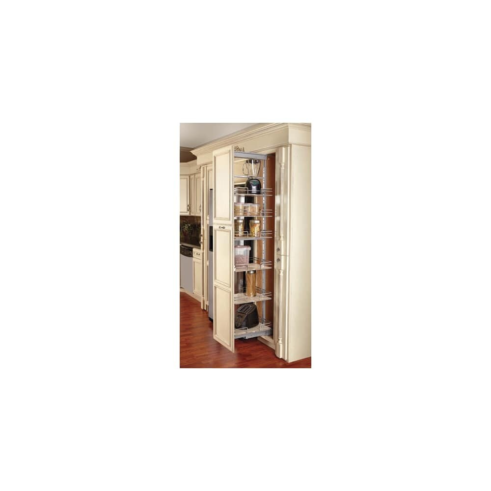 Shop Rev A Shelf 5273 14 5200 Mp Series 145 Wide Six Tier Pull Out