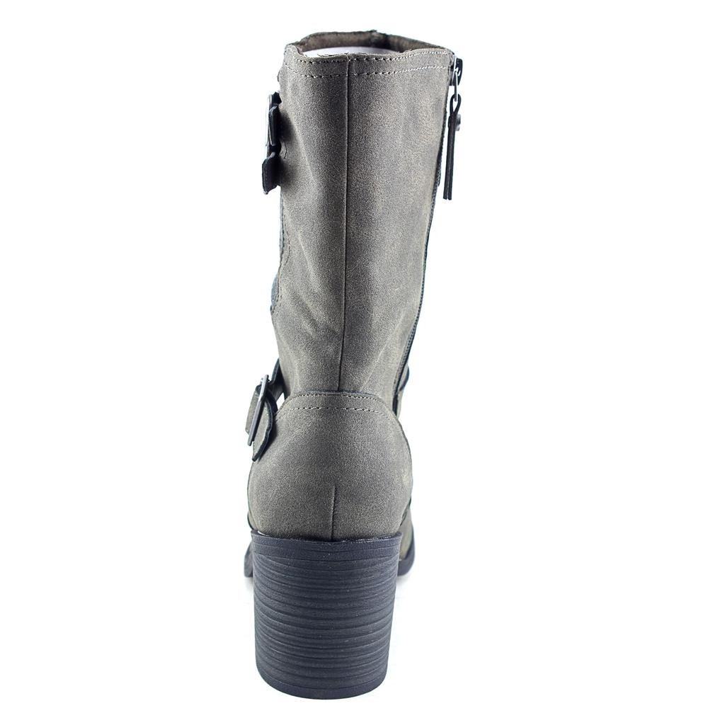 0c324e2852a9 Shop Rocket Dog Dayton Women Round Toe Synthetic Gray Mid Calf Boot - Free  Shipping On Orders Over  45 - Overstock - 14531408