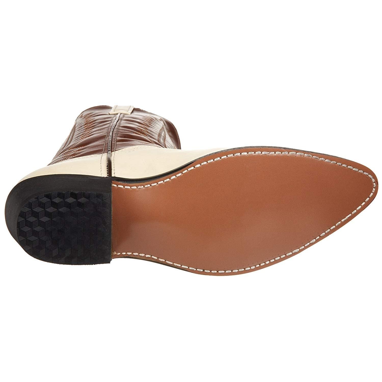 8bd38002da1 Laredo Mens 6116 Classic Leather Pointed Toe Mid-Calf Western Boots