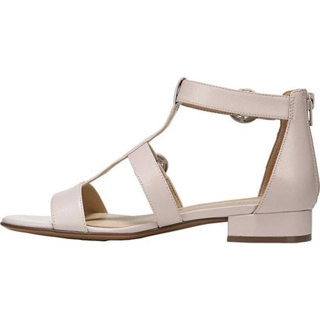 d60c3bed3b88 Shop Naturalizer Women s Mabel Flat Sandal Marble Leather - Free Shipping  Today - Overstock - 21691937