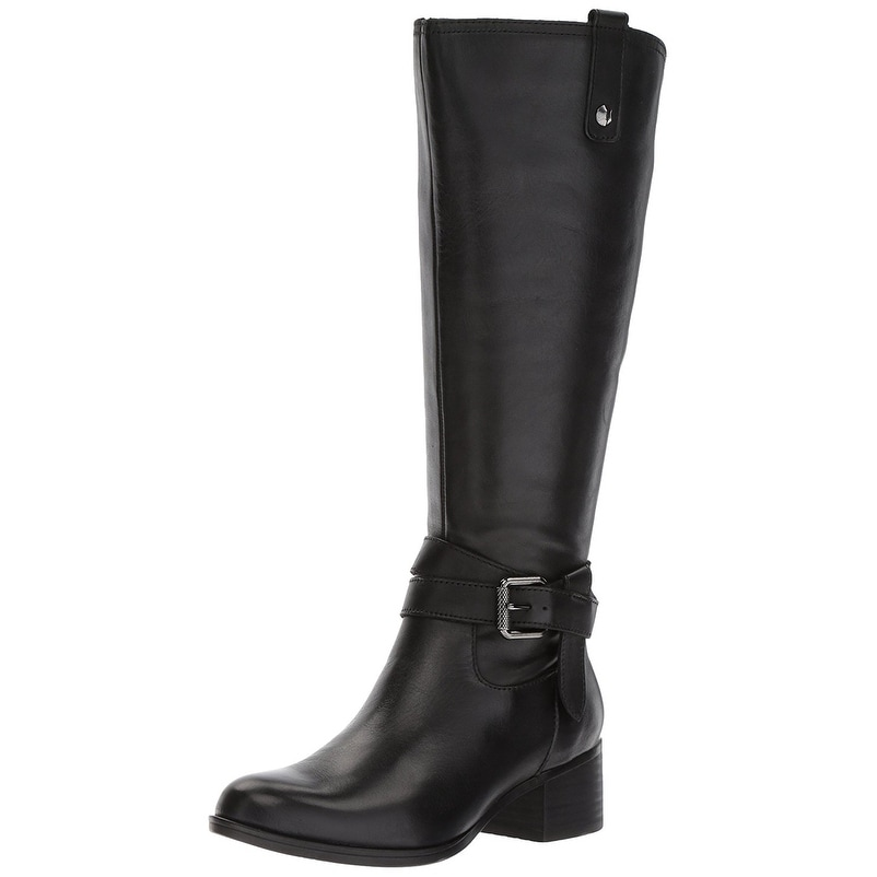 0778deaaeaf Naturalizer Womens Dev Leather Almond Toe Knee High Fashion Boots