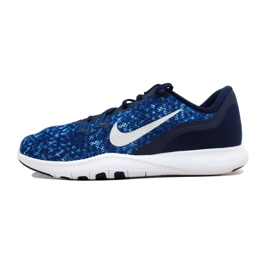 Nike Women s Flex Trainer 7 IG Binary Blue Metallic Silver 917714-400 Size  10 05915c8b18085