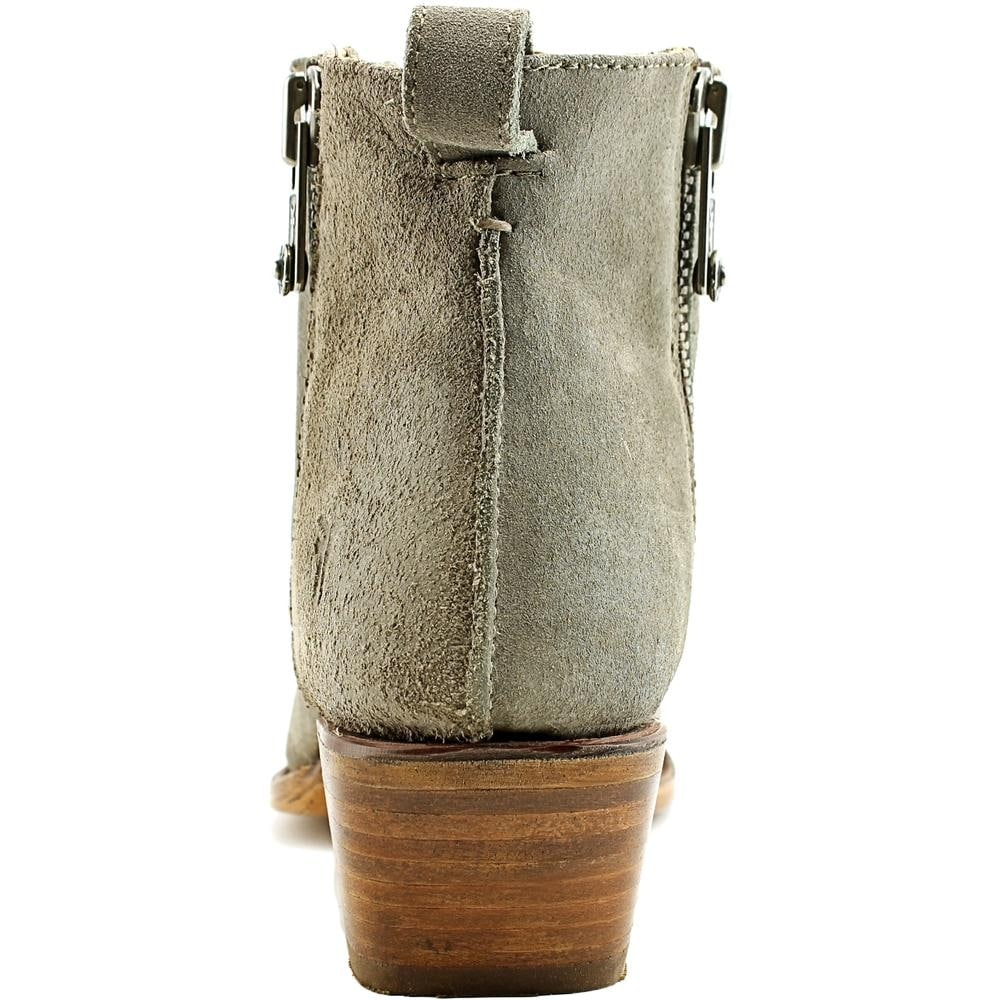 249052077e5ca Shop Frye Sacha Moto Shootie Women Pointed Toe Suede Gray Bootie - Free  Shipping Today - Overstock - 14615832