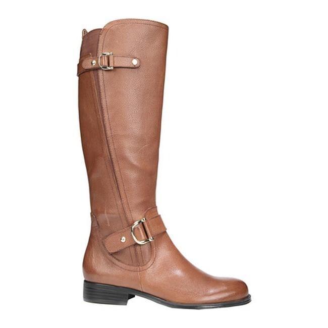 57887f0283d726 Shop Naturalizer Women's Jenelle Wide Calf Riding Boot Tan Leather ...