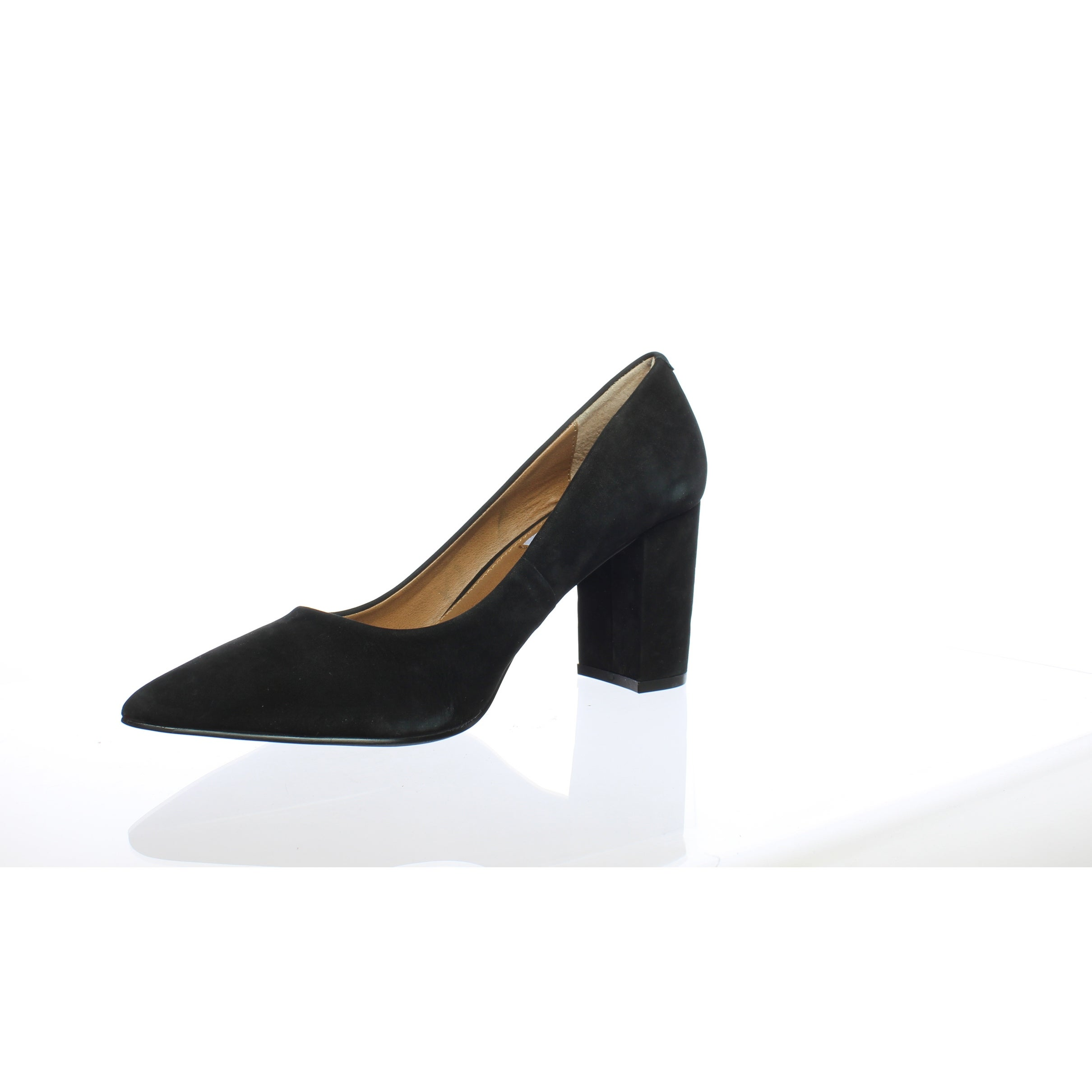 4049577dc10 Shop Steve Madden Womens Ashlyn Black Nubuck Pumps Size 8 - Free Shipping  On Orders Over  45 - Overstock - 27655787