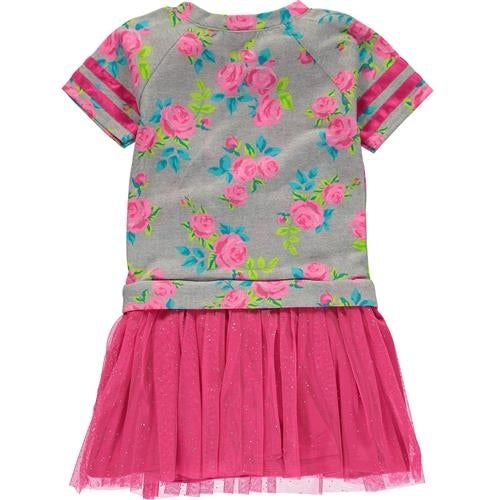 58ab7b90bed8 Shop Youngland Little Girls 4-6X Floral Heart Dress - Pink - Free Shipping  On Orders Over $45 - Overstock.com - 18767930