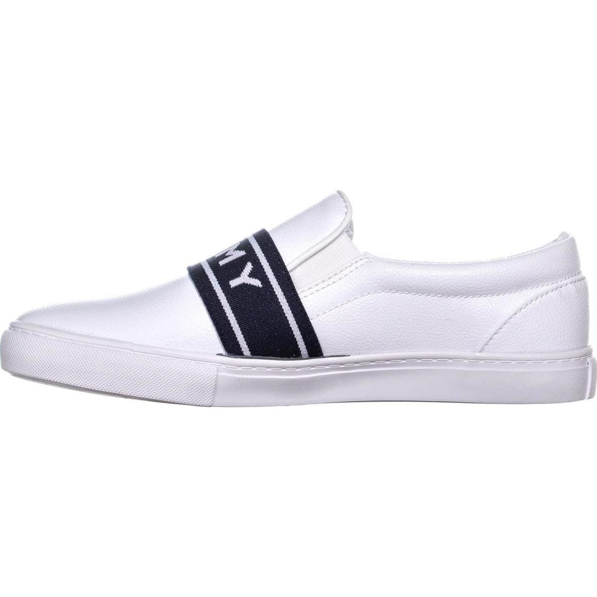 e1a04f24 Shop Tommy Hilfiger Lourena Slip On Sneakers, White Multi - Free Shipping  On Orders Over $45 - Overstock - 24218745