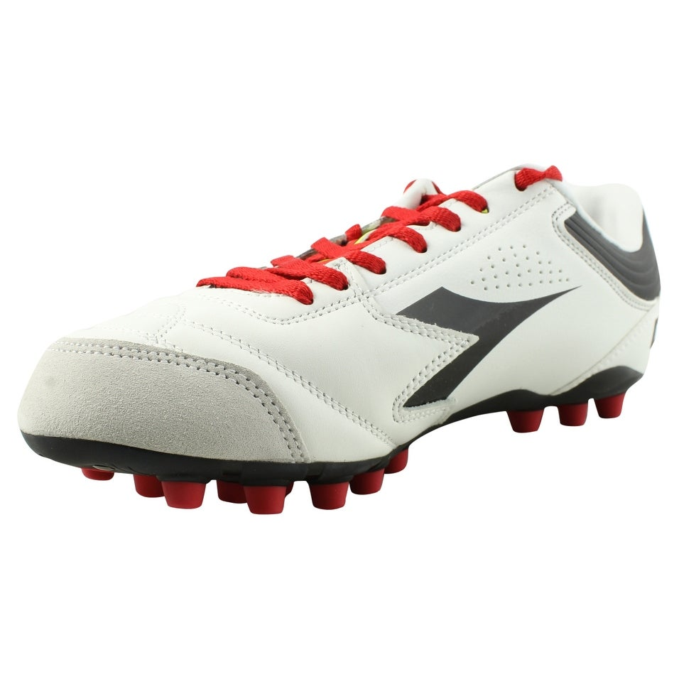 1bce43c3e Shop Diadora Mens Ita 3 White Black Soccer Cleats Size 8 - Free Shipping On  Orders Over  45 - Overstock - 22900550