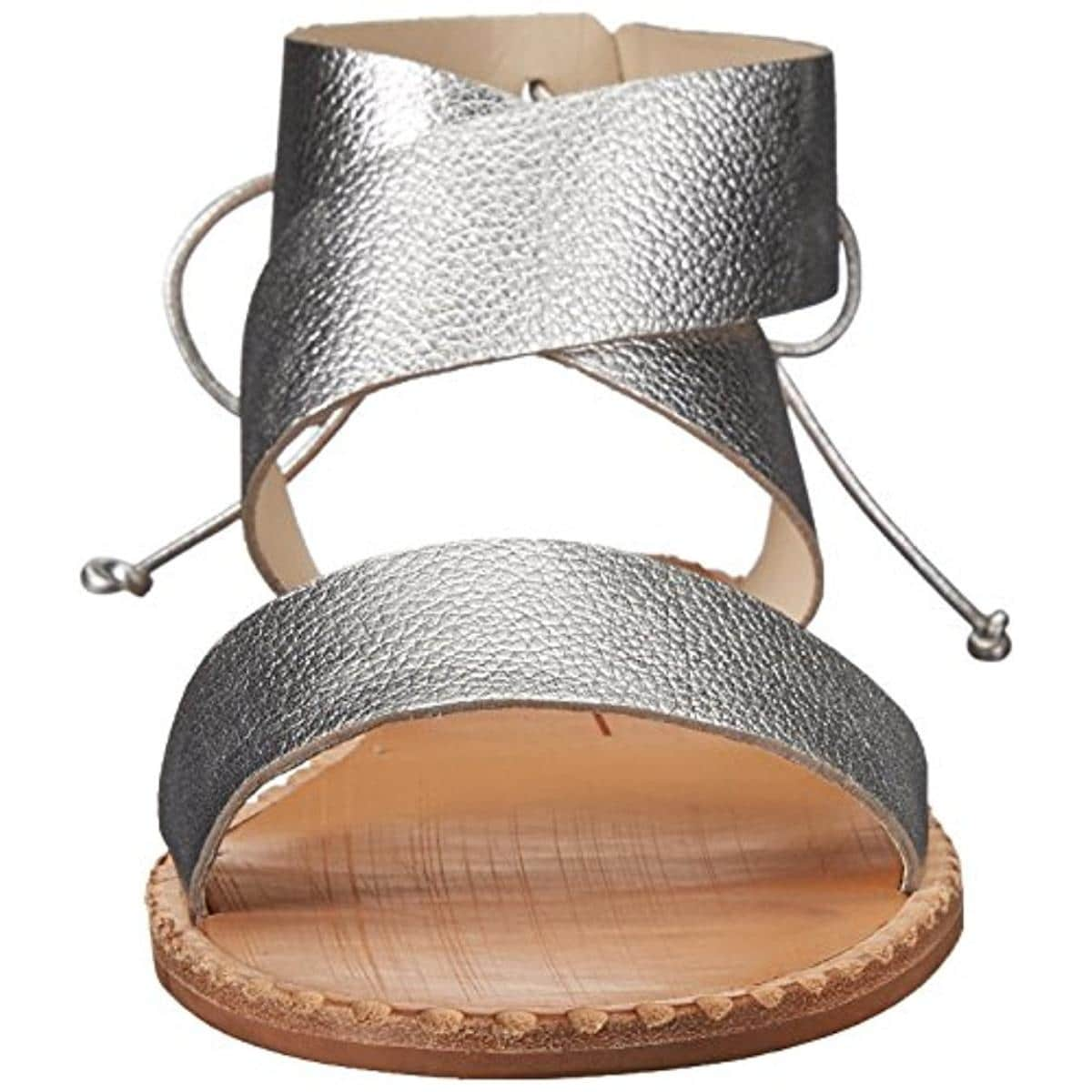 fdb8583d2 Shop Dolce Vita Womens Pomona Flat Sandals Leather Metallic - Free Shipping  Today - Overstock - 21260010