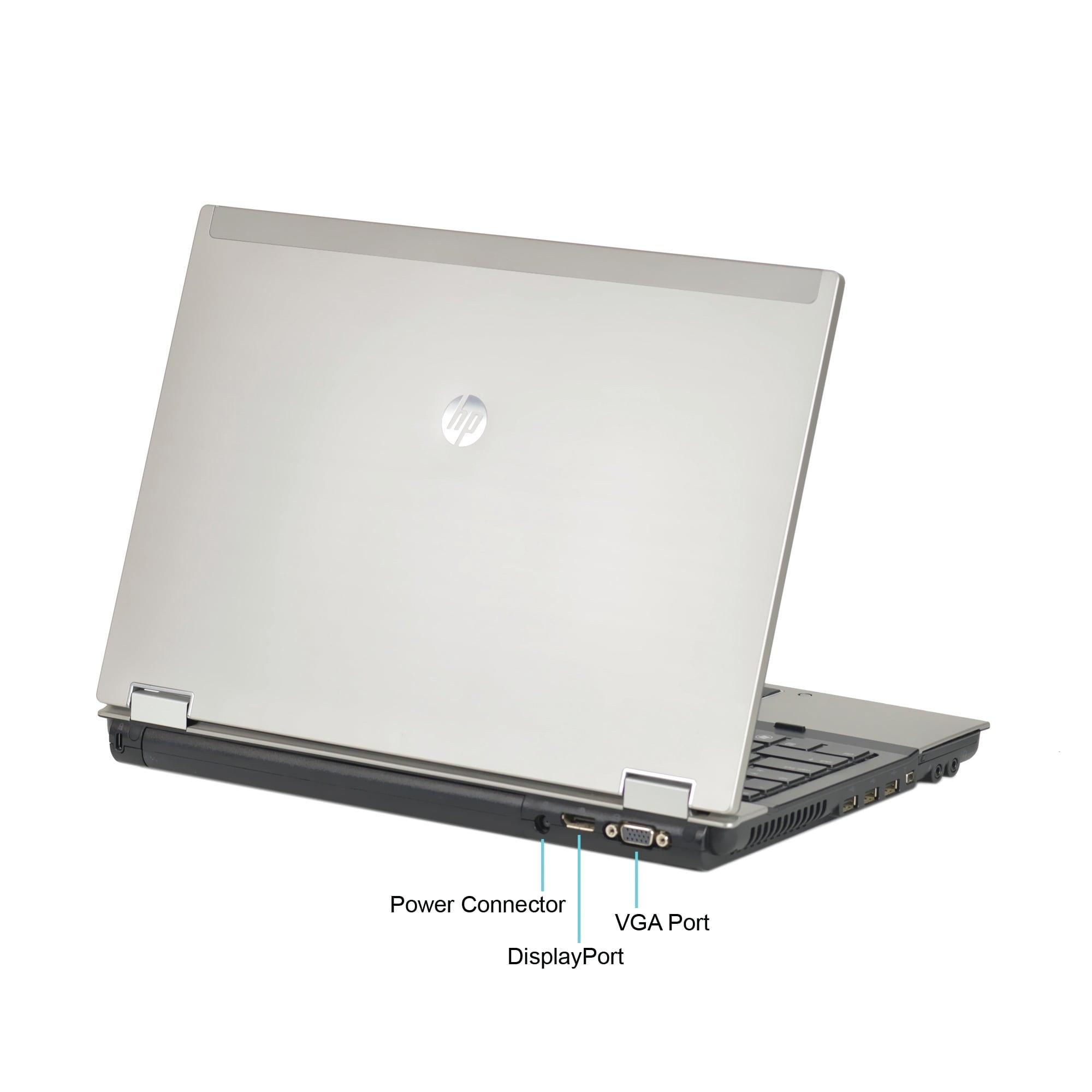 HP EliteBook 8440P 14 1-inch 2 4GHz Core i5 4GB RAM 500GB HDD Windows 10  Laptop (Refurbished)