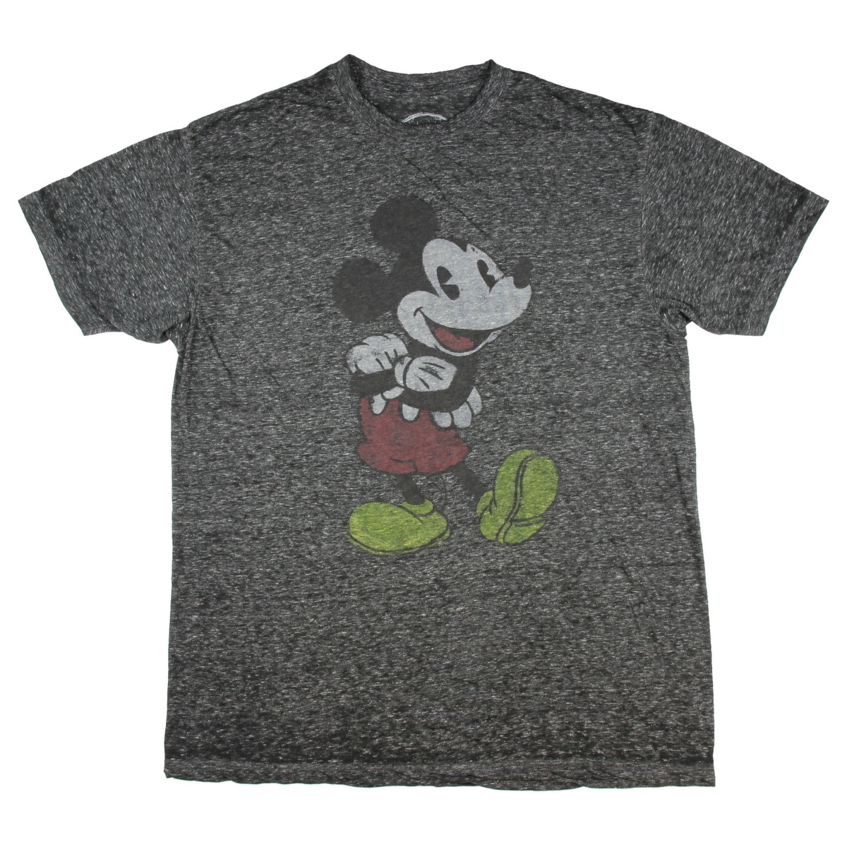 a7ceb9ef98f Shop Disney Mickey Mouse Classic Distressed Graphic T-Shirt - Free Shipping  On Orders Over  45 - Overstock - 17169269