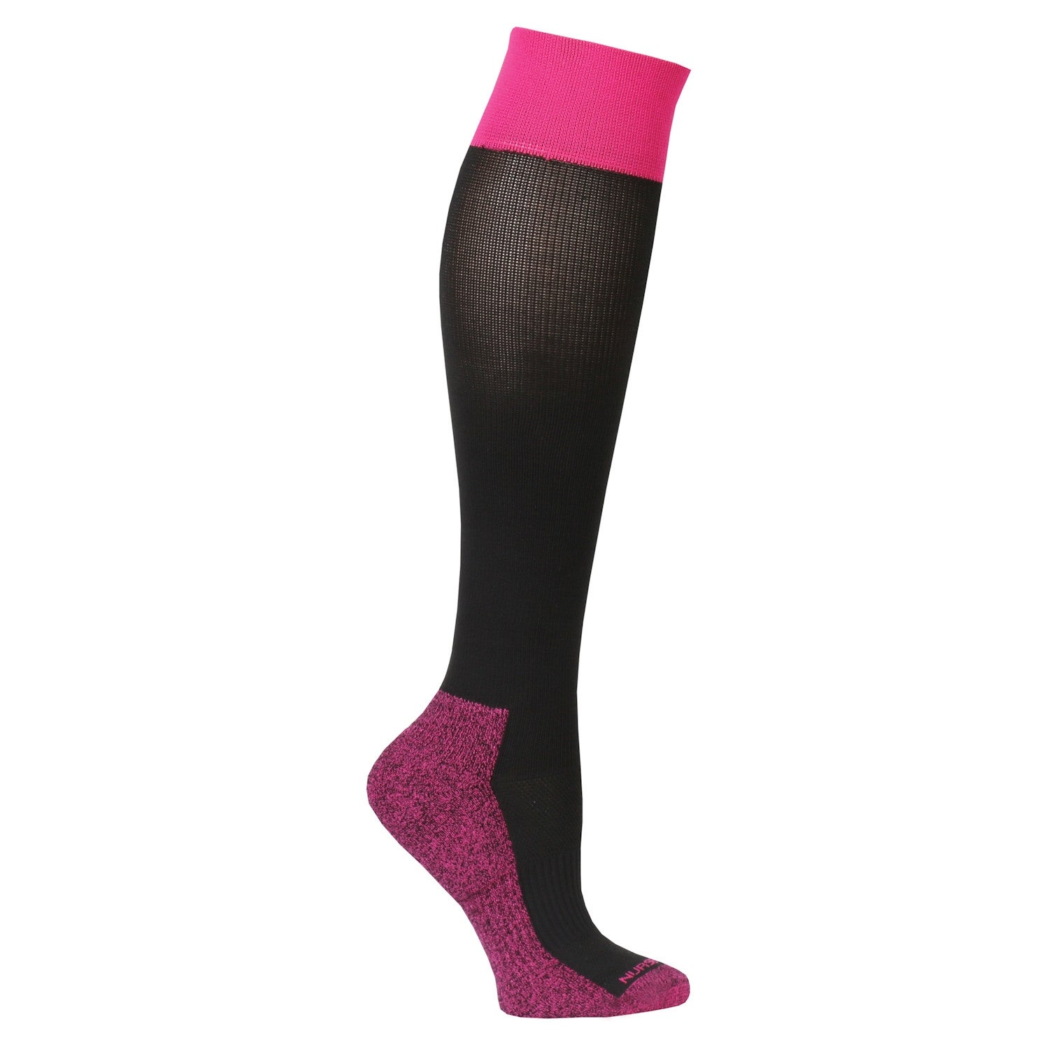 3359ac1b6d Shop Nursemates Women's Moderate Compression Socks - Extra Cushioned Knee- Highs - One Size - On Sale - Free Shipping On Orders Over $45 - Overstock -  ...