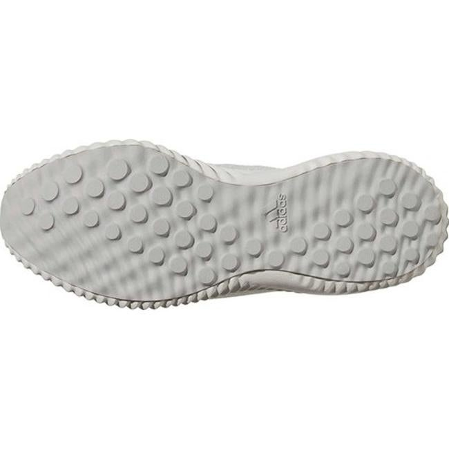 0a8cf1af7351e Shop adidas Men s AlphaBOUNCE EM Running Shoe White Silver Metallic Off  White - Free Shipping Today - Overstock - 20725655