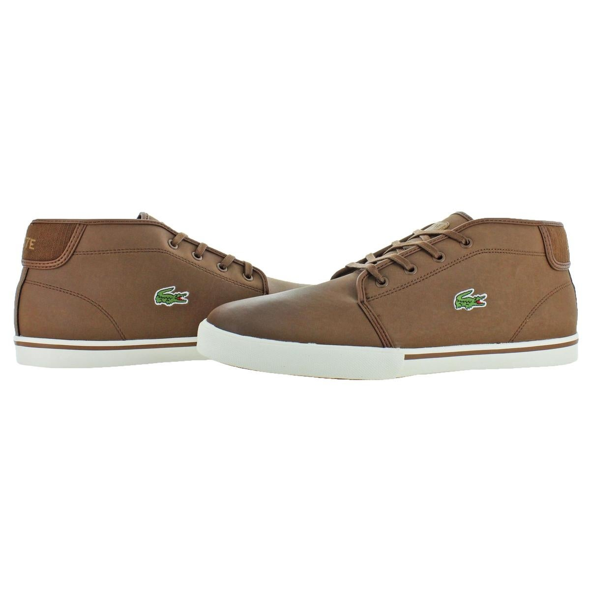 8c1603570799c Shop Lacoste Mens Ampthill Chukka Leather Casual - Free Shipping ...