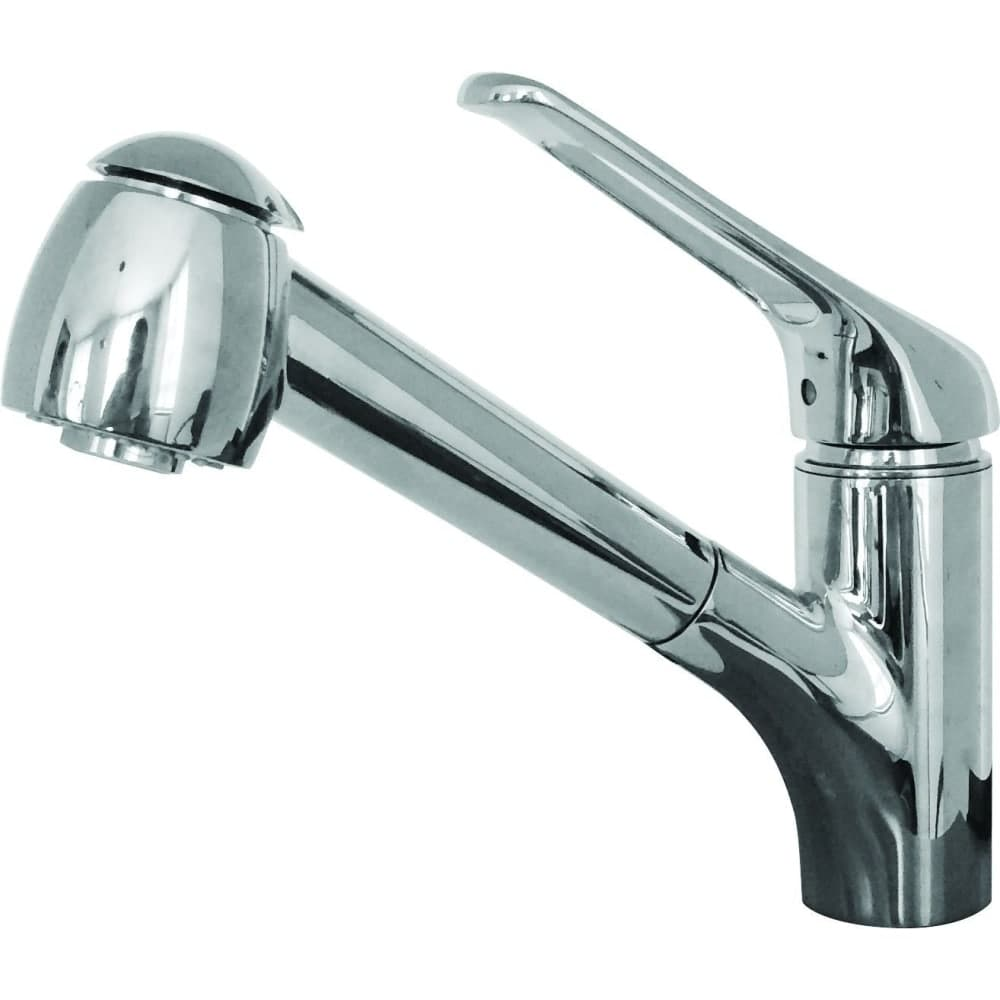 Shop Franke FFPS201 Valais Pull-Out Spray Kitchen Faucet - Includes ...