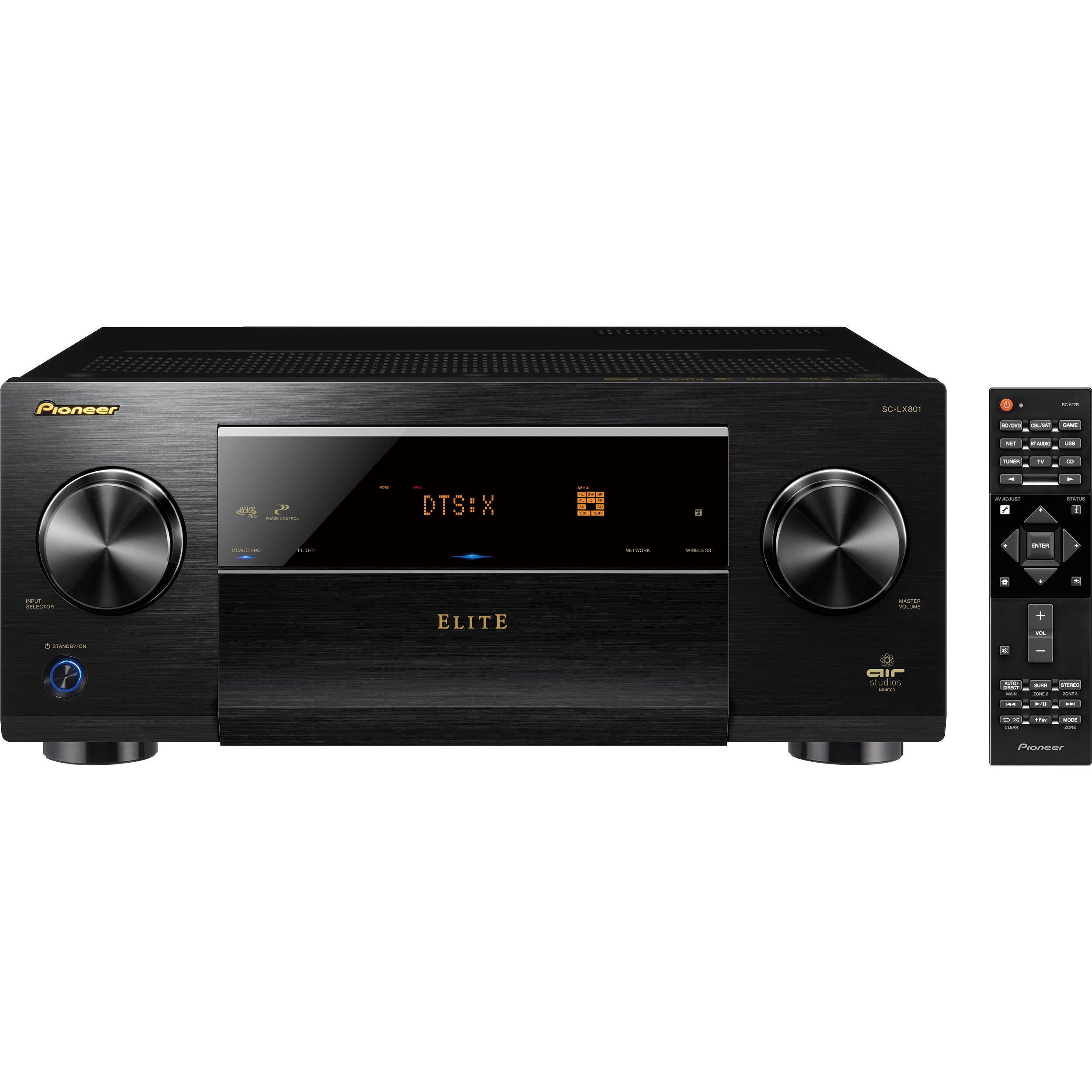 Shop Pioneer Elite Sc Lx801 92 Channel A V Receiver Accessories Bt 2 Free Shipping Today 21803548