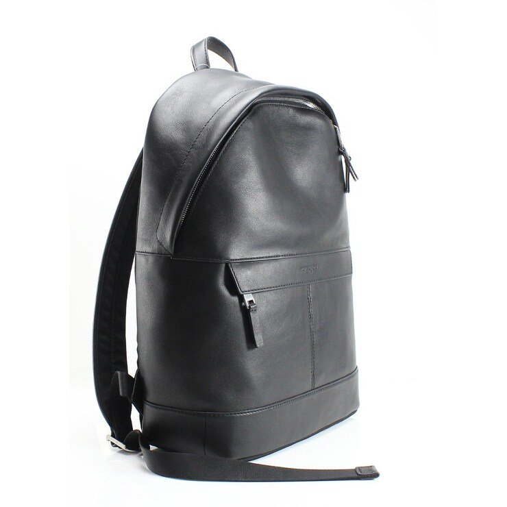 acd4a1d56d23 Shop MICHAEL KORS Black Pebble Leather Odin Resina Men's Backpack Bag -  Free Shipping Today - Overstock - 22410337