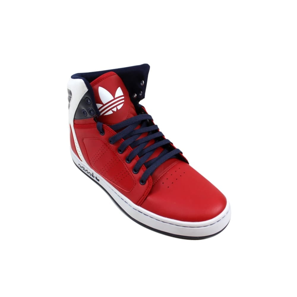 more photos 822a5 c24d1 Shop Adidas Mens Adi High EXT Scarlet RedWhite G56624 - Free Shipping  Today - Overstock.com - 27339819