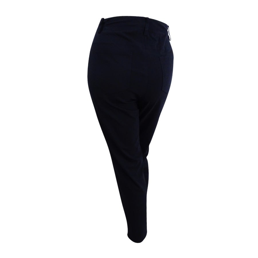 52a014ebce9a5 Shop Tahari ASL Women's Plus Size Stretch Slim Pants (18W, Black) - Black -  18W - On Sale - Free Shipping Today - Overstock - 21128145