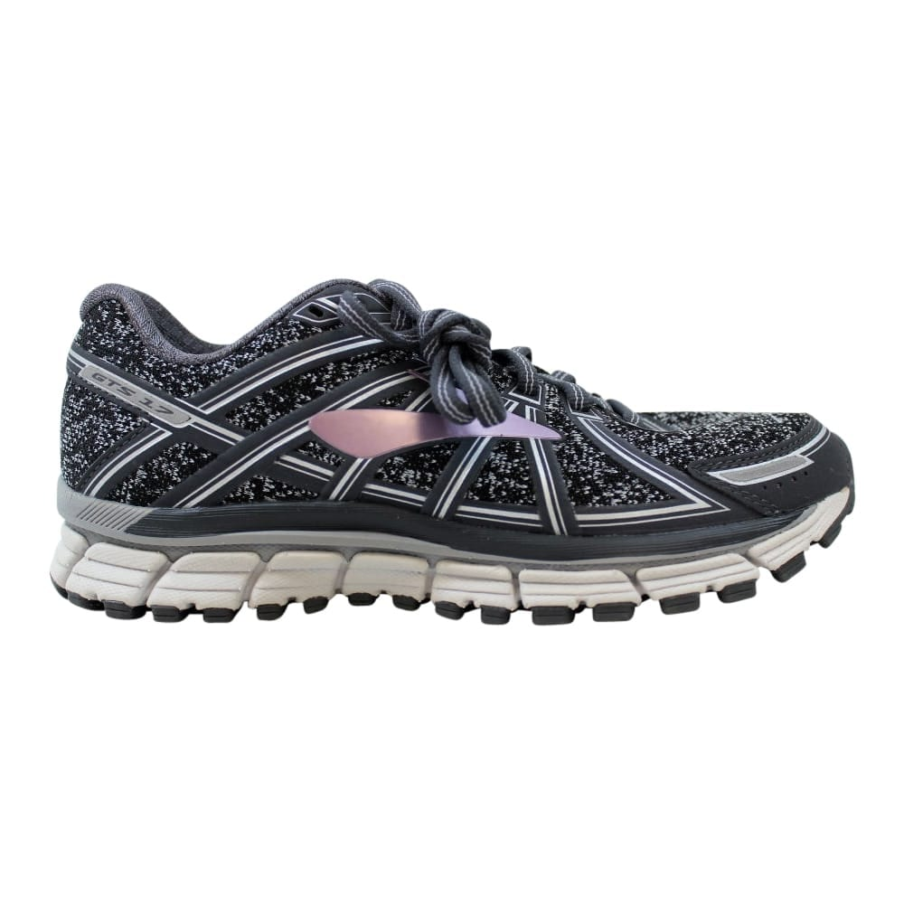 76c200ba031 Brooks Adrenaline GTS 17 Metallic Charcoal Black-Rose Gold Women s 120231  1B 026 Size 6.5 Medium