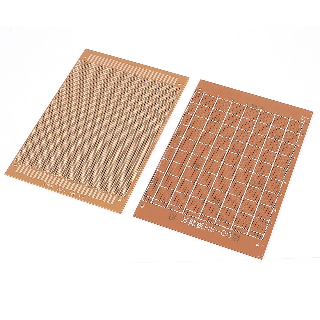 Unique Bargains 2pcs Pcb Printed Circuit Board Prototype Breadboard Bread Stripboard 18cm X 12cm Free Shipping On Orders Over 45 24472519