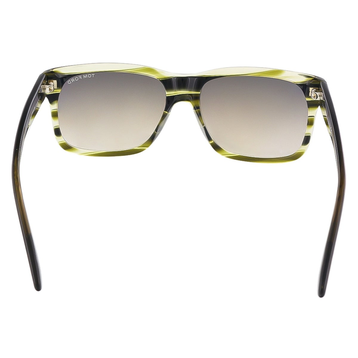 89556603e1b4d Shop Tom Ford FT0376 S 98K BARBARA Olive Green Rectangular sunglasses - 58- 16-145 - Free Shipping Today - Overstock - 13318254