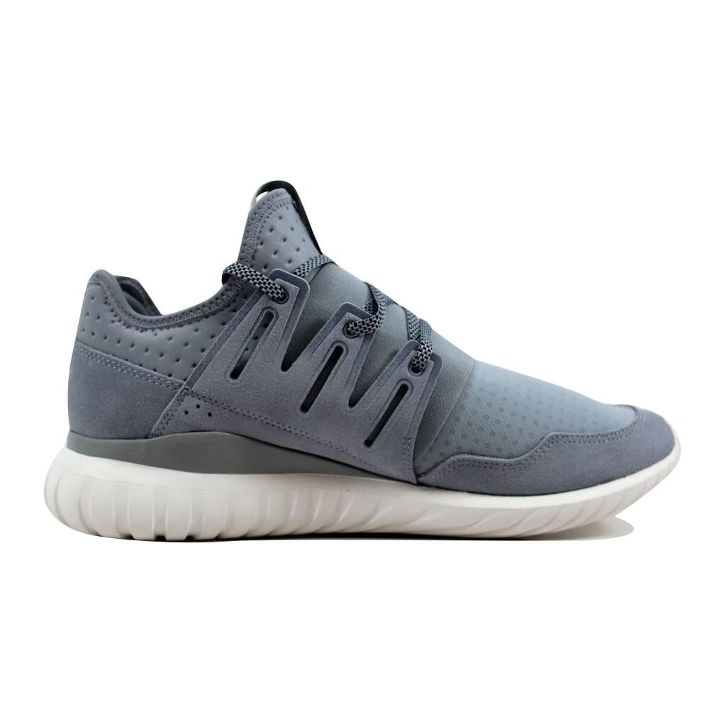 Adidas Men s Tubular Radial Light Grey Black-Vintage WhiteS80112 a04f0a32bbab