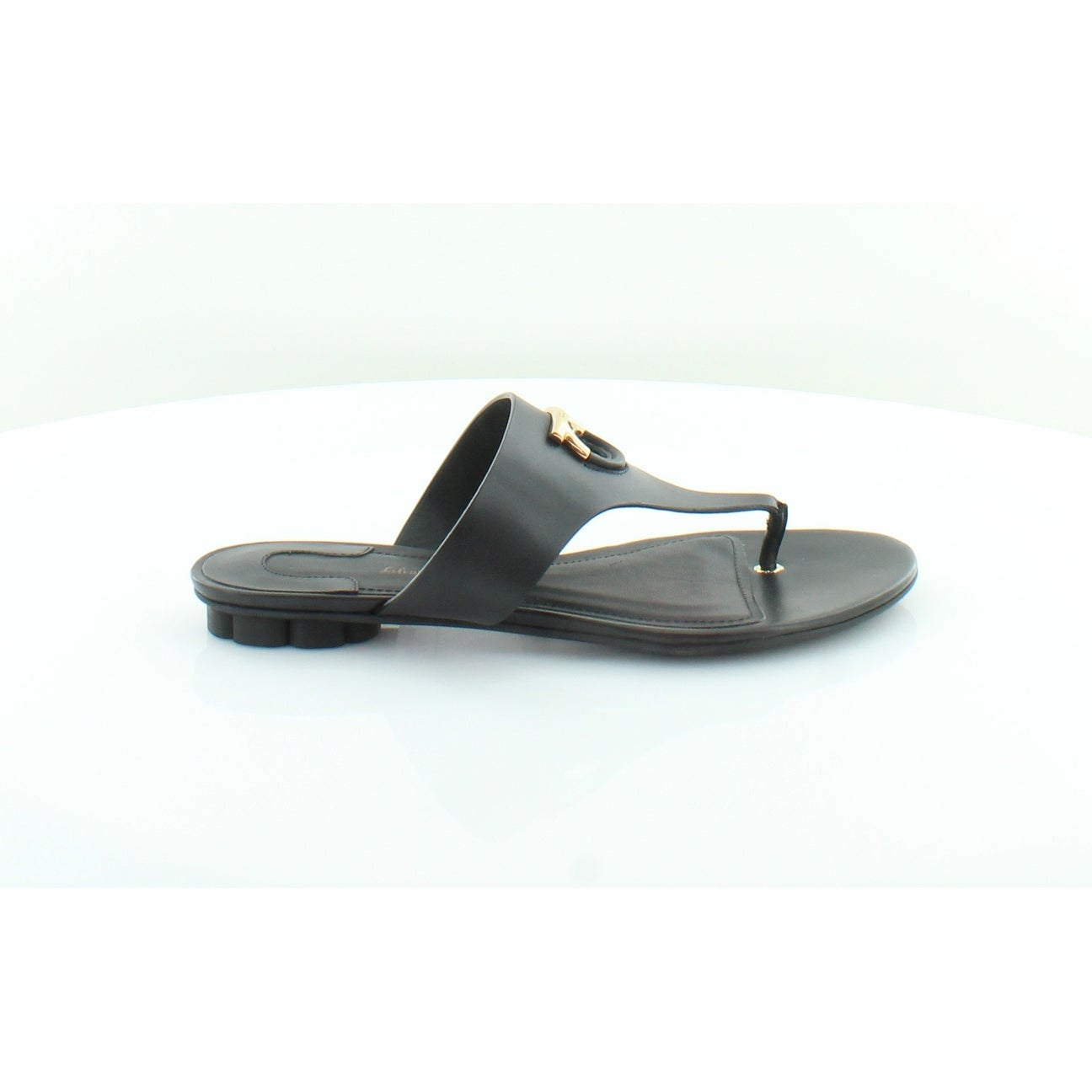 84190bcecb17 Shop Salvatore Ferragamo Enfola Women s Sandals Black - Free Shipping Today  - Overstock - 25637159