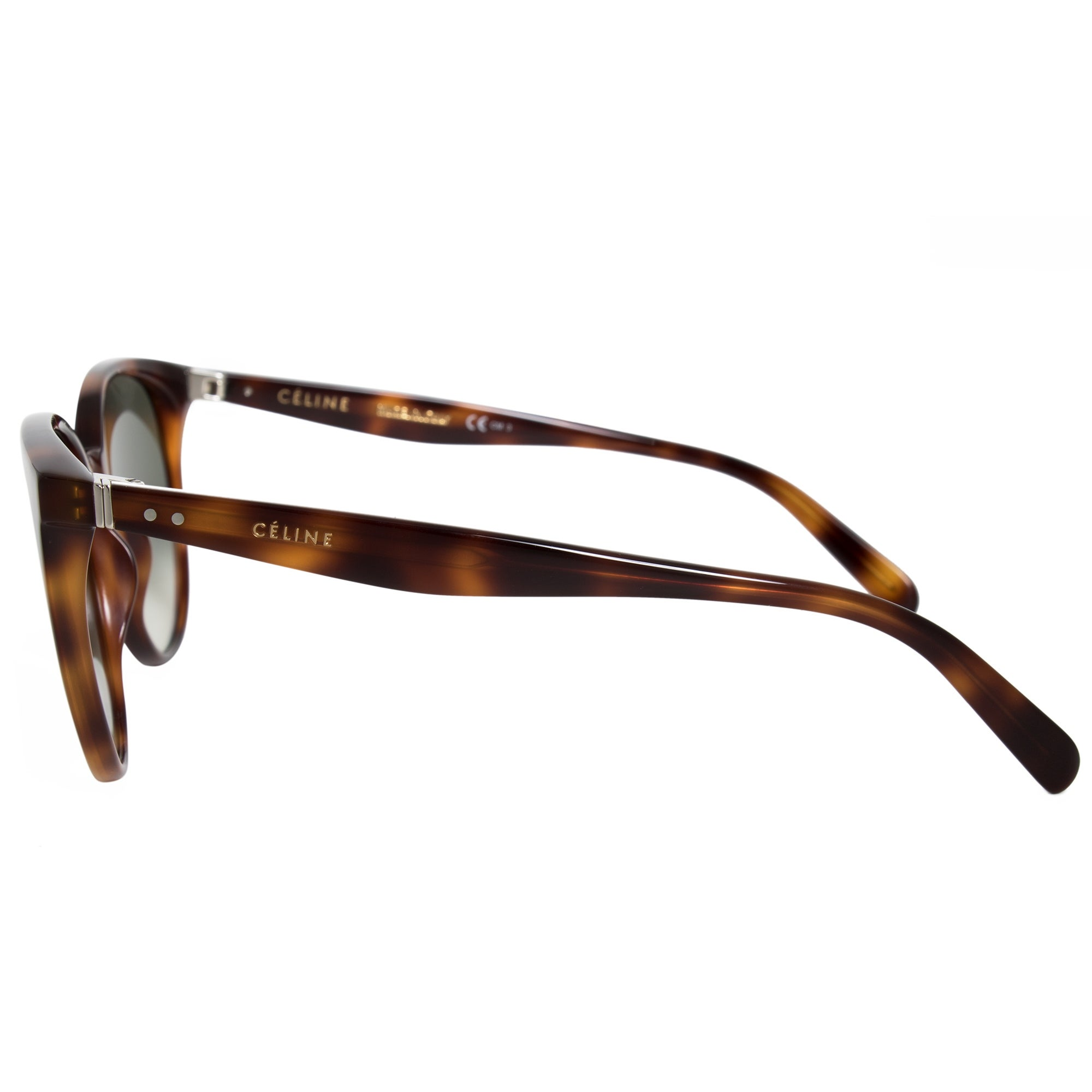 70f59bdc0929 Shop Celine Mary Round Sunglasses 41068S 05L XM 55 - Free Shipping Today -  Overstock.com - 19622522