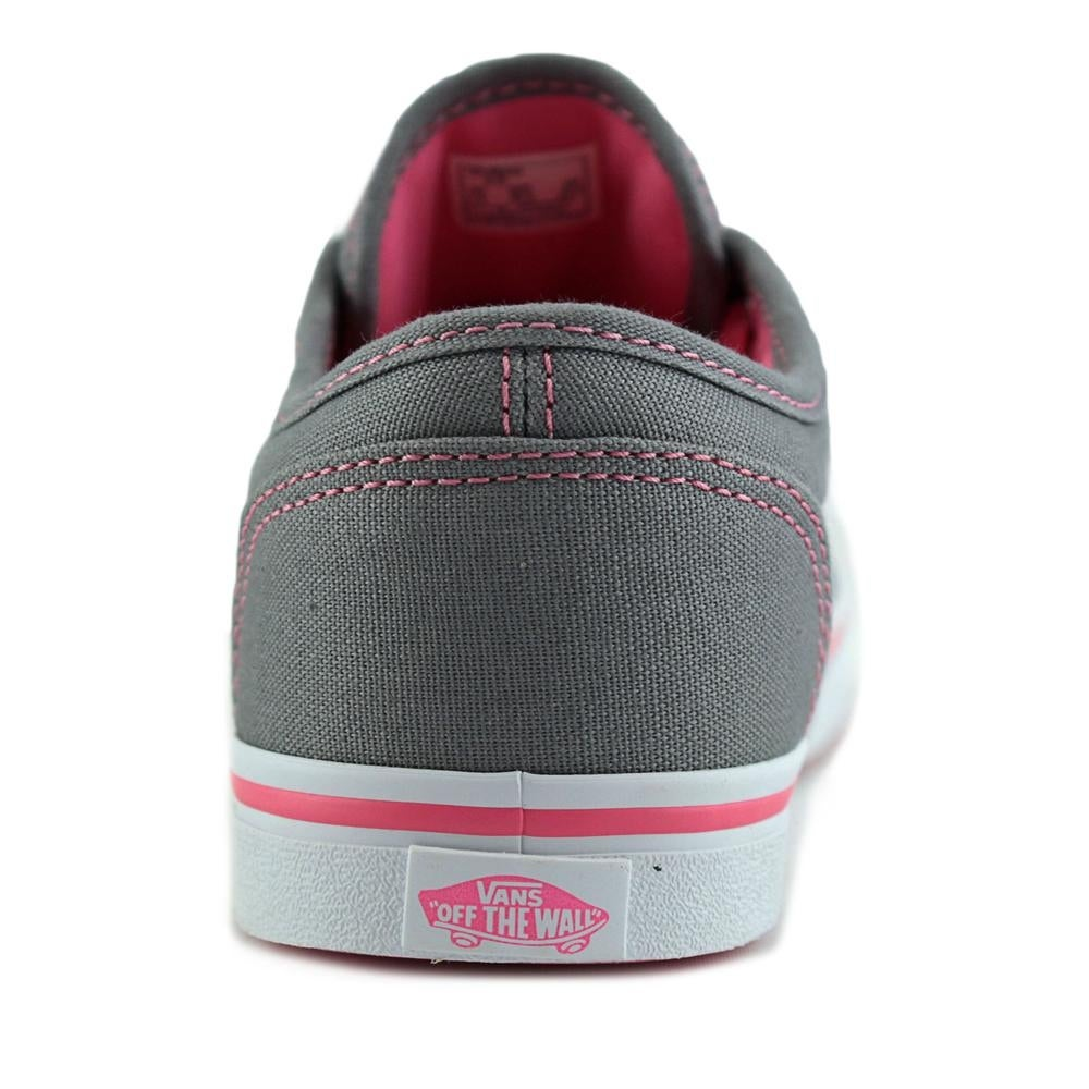 Shop Vans Atwood Low Girl Grey Pink Lemonade Athletic Shoes - Free Shipping  On Orders Over  45 - Overstock - 15289003 012d33bb4