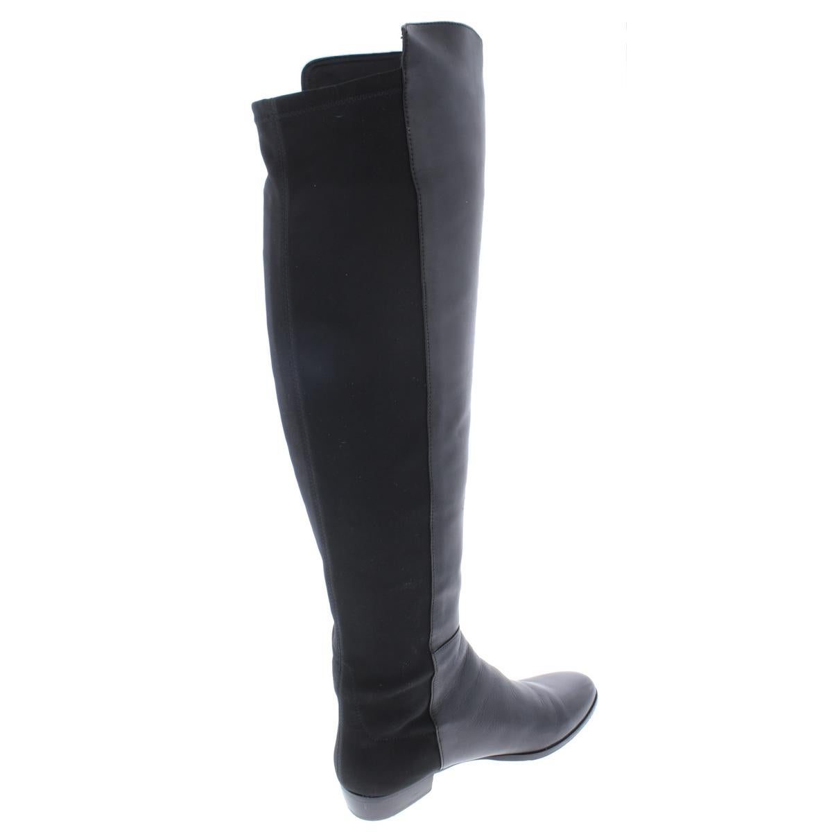 8eef579b484 Vince Camuto Womens Karita Over-The-Knee Boots Leather Stretch