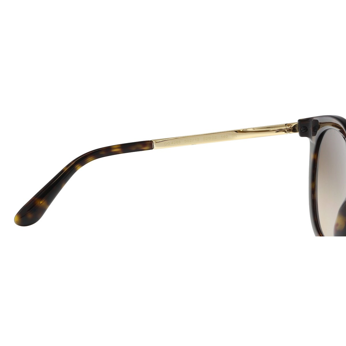 03819735a1 Dolce   Gabbana DG4268 502 13 Havana Cat Eye Sunglasses - 52-22-140 - Free  Shipping Today - Overstock.com - 26933146