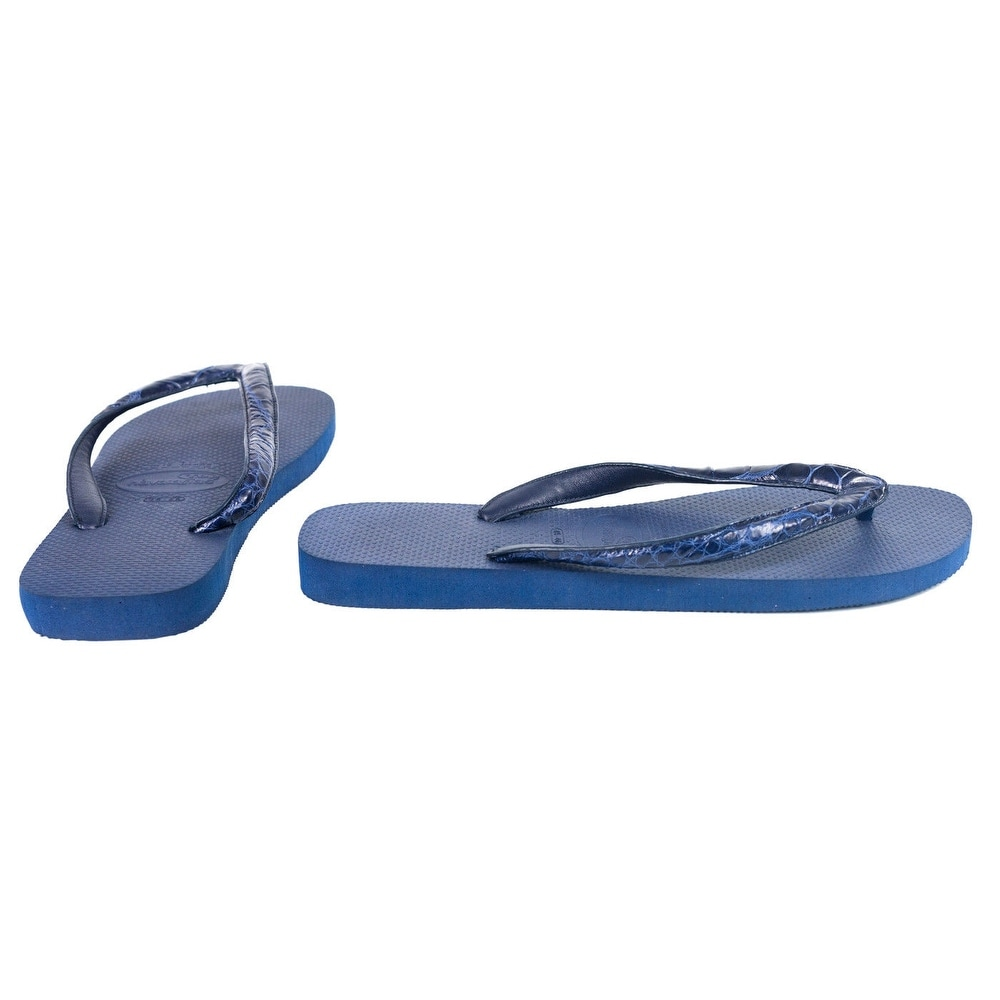 9a98ddc059f Shop Valentino Garavani Mens Leather Strap Thong Sandals - Free Shipping  Today - Overstock.com - 21503685