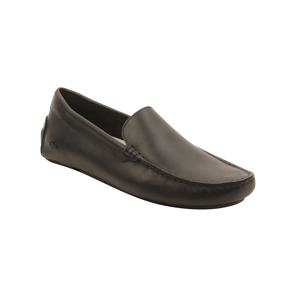 69c4d0529 Shop Lacoste Mens Piloter 117 Loafers in Black - Free Shipping Today -  Overstock.com - 16077048