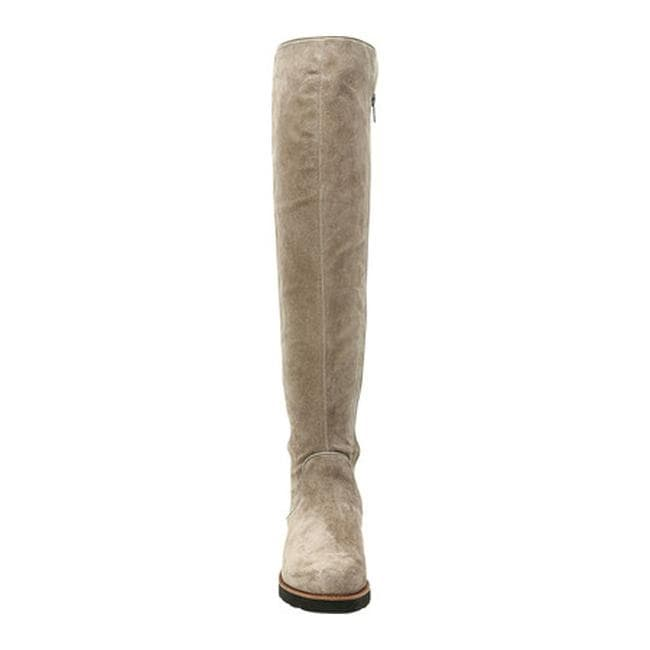 260eb04b3a1 Shop Sarto by Franco Sarto Women s Benner Over the Knee Boot Warmstone  Leather Polyurethane - Free Shipping Today - Overstock - 19426584