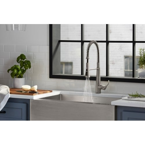 Shop Kohler K-22033 Simplice Semi-professional Kitchen Sink Faucet ...