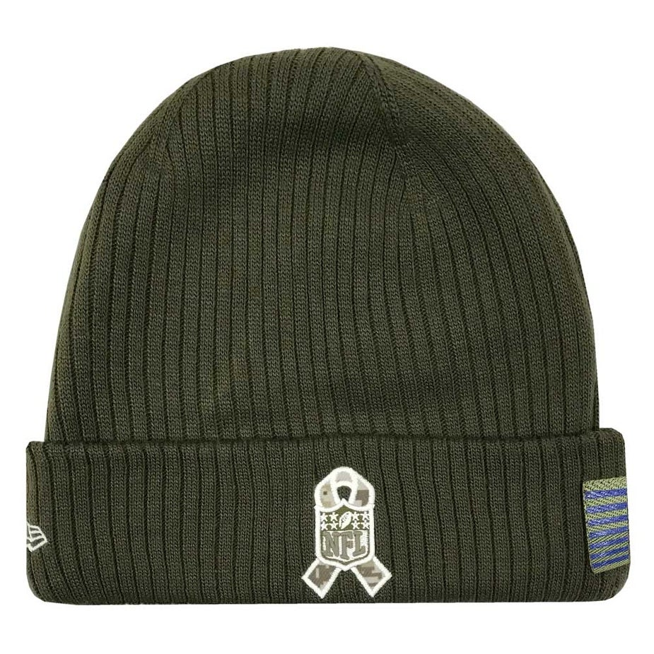 e6f9729bc14e1 Shop New Era 2018 NFL New York Giants Salute to Service Knit Hat Stocking Beanie  Cap - Free Shipping On Orders Over  45 - Overstock - 23577511