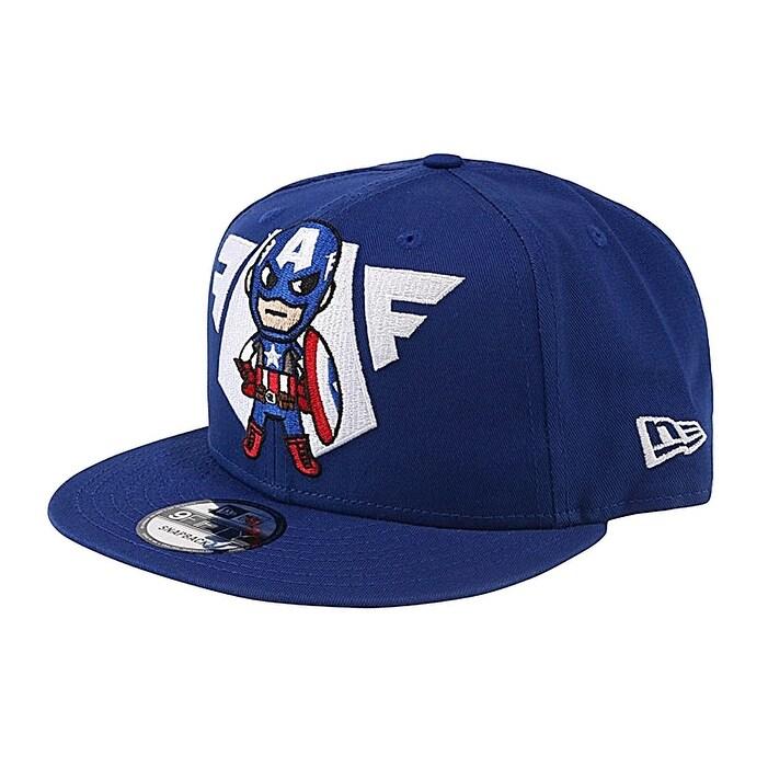 pretty nice 4ec2b 41ce9 Shop Tokidoki New Era 9Fifty Marvel Vintage Captain America Emblem Men s  Snapback Hat - Free Shipping On Orders Over  45 - Overstock - 18433873