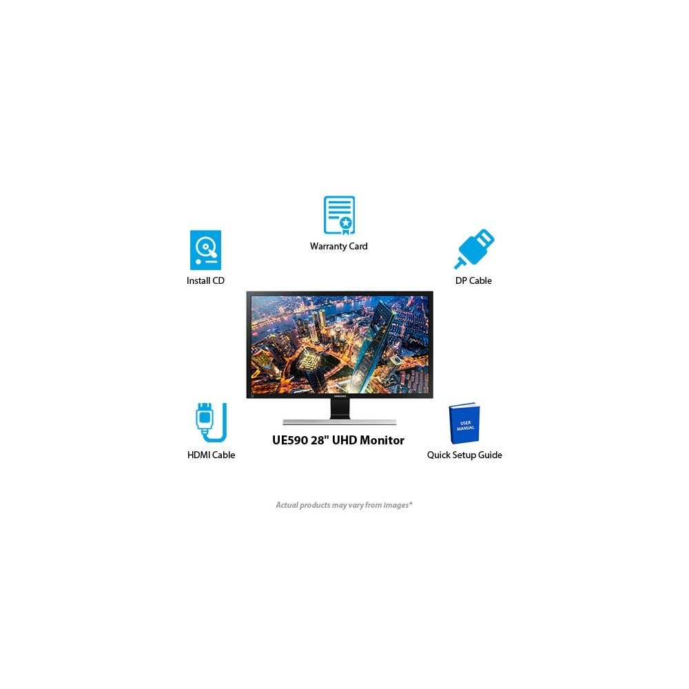 28-inch UE590 UHD Monitor 28-inch UE590 UHD Monitor