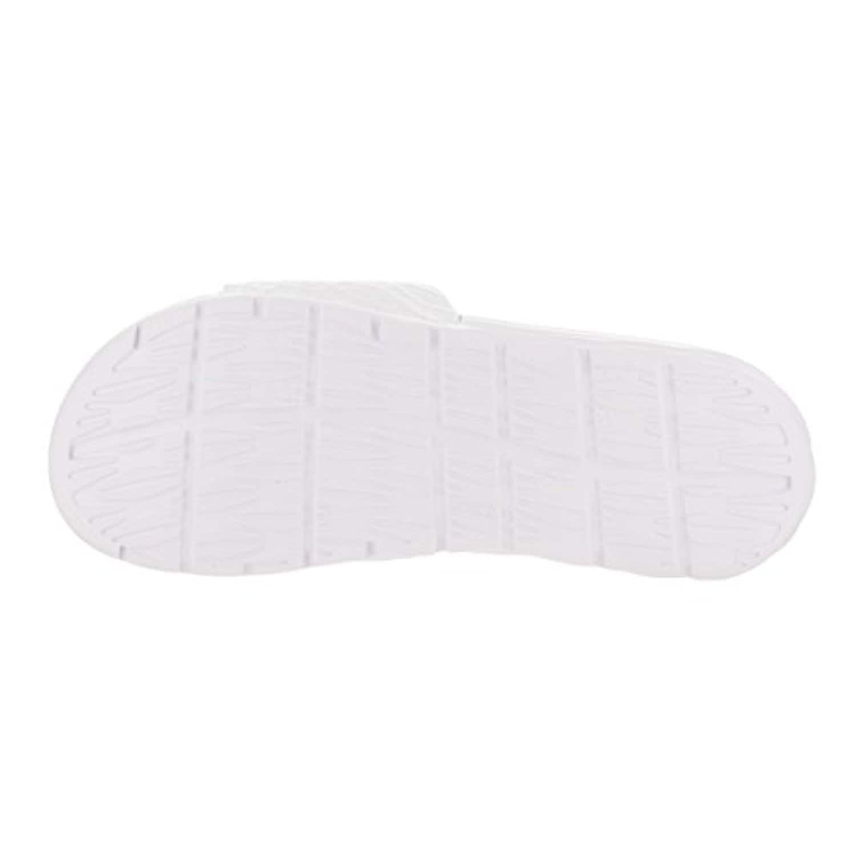 b0c56af24 Shop Nike Benassi Solarsoft Slide 2 Womens Sandals White Artisan Teal 705475 -130 (10 B(M) US) - white artisan teal - Free Shipping Today - Overstock -  ...