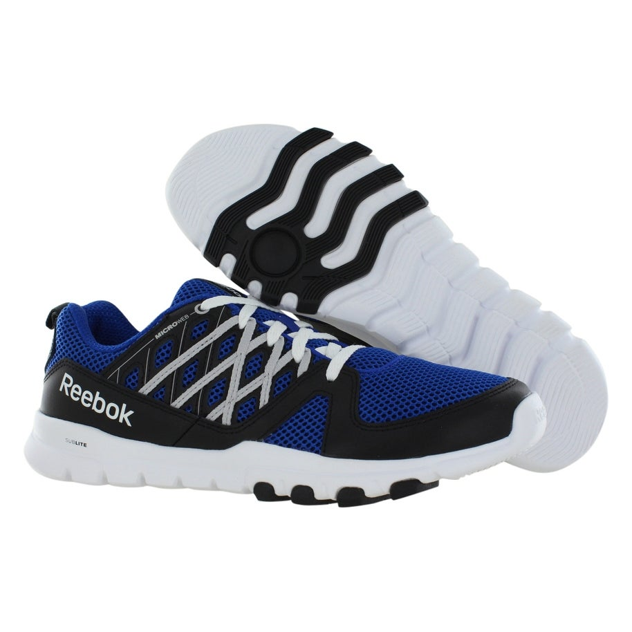 2fbd6b42380a50 Shop Reebok Sublite Train Rs 2.0L Training Men s Shoes - Free Shipping  Today - Overstock - 21949792