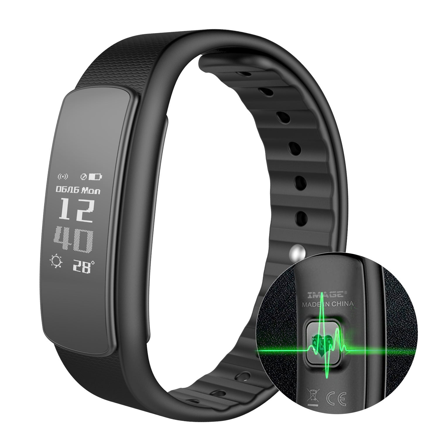 smart fitness activity heart wireless with continuous watch tracker rate monitor waterproof product watches bracelet new