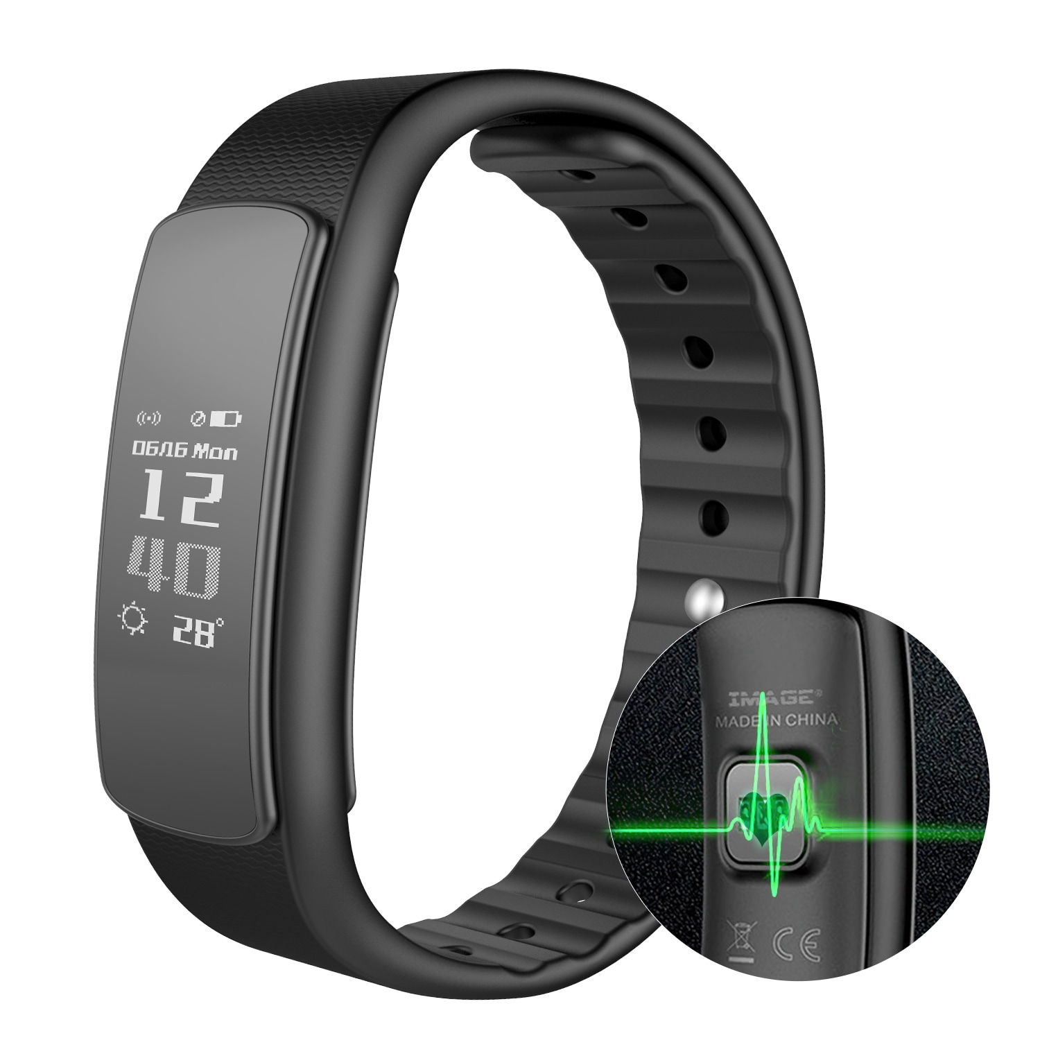smart fitness blood itm monitor tracker colour screen watch uk is sd heart rate pressure p loading watches image