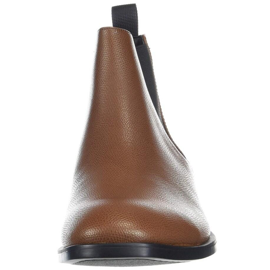 dcc832ad9de Calvin Klein Men's Corin Small Tumbled Leather Chelsea Boot