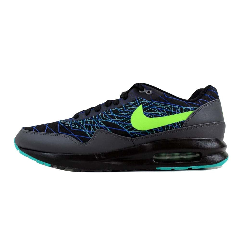 66b916195dc1 Shop Nike Men s Air Max Lunar1 JCRD Winter Black Flash Lime-Hyper Cobalt  684494-003 - Free Shipping Today - Overstock - 22340329