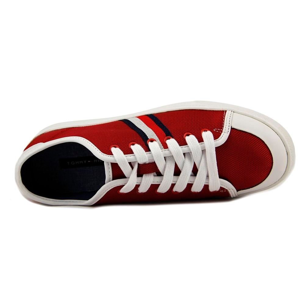 2aa15382659e7 Shop Tommy Hilfiger Spruce 3 Round Toe Canvas Sneakers - Free Shipping On  Orders Over  45 - Overstock - 17837496