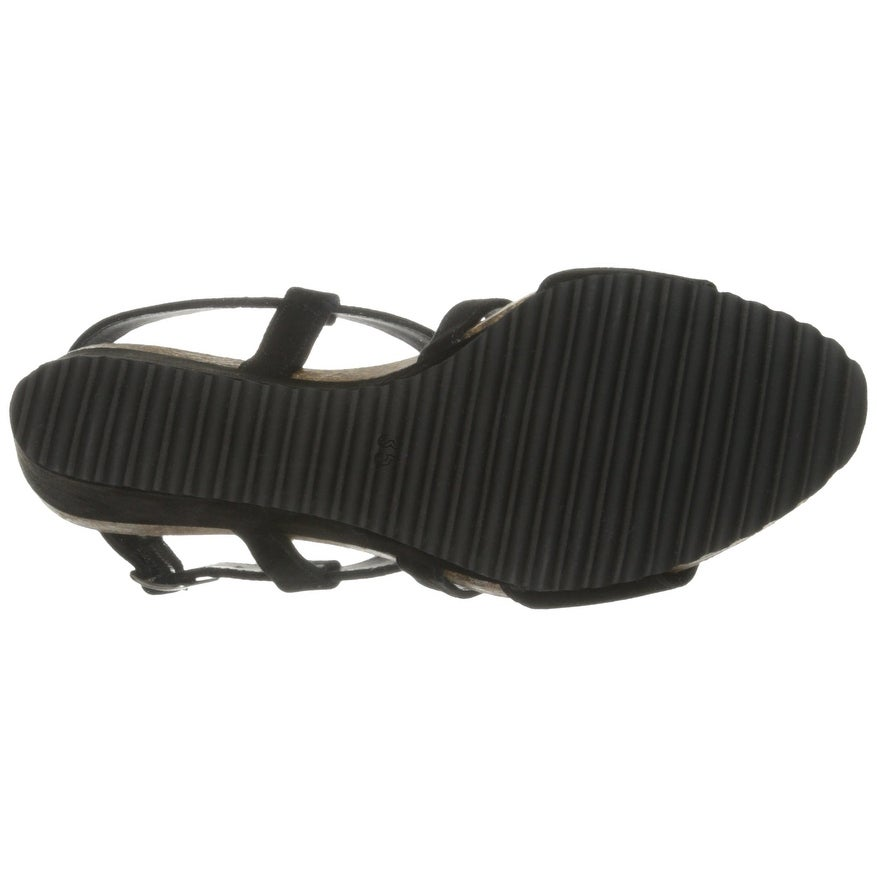 7b94e576faa Shop Cordani Black Atwell Shoes Size 10M Wedges Suede Sandals - Free  Shipping On Orders Over  45 - Overstock - 19844555