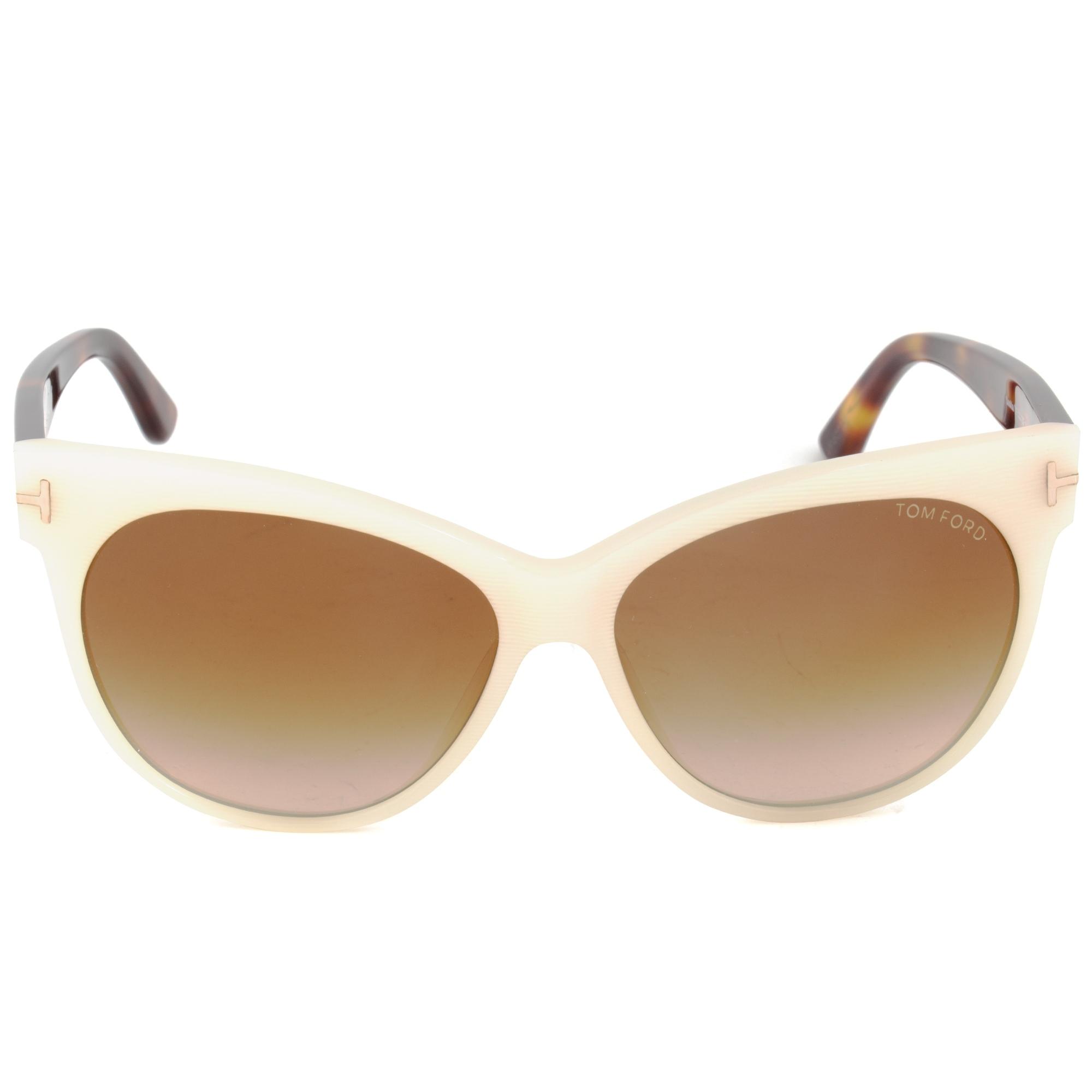 5b0f543af6fa0 Shop Tom Ford FT0330 20F Saskia sunglasses - Free Shipping Today ...